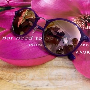 NWOT Ray-ban RB4242 Purple with Copper Flash lens